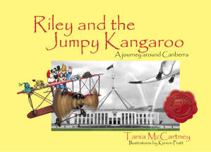 Riley the Jumpy Kangaroo cover MEDIUM
