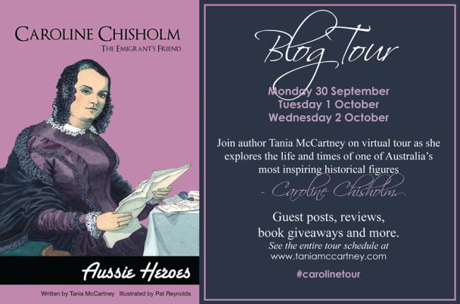 Caroline Chisholm Blog Tour