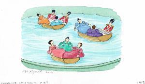 Caroline Chisholm illustration washbasin