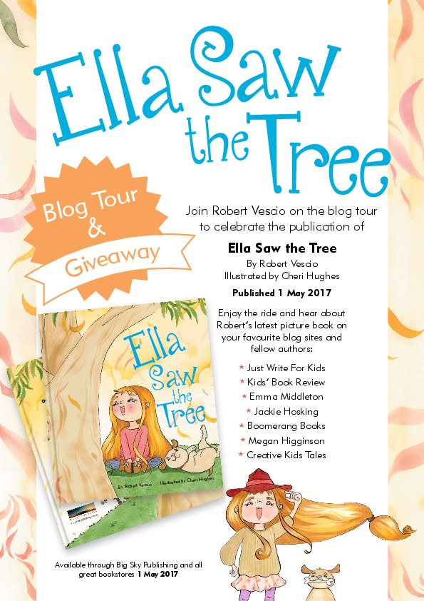 Ella Saw the Tree_Flyer_1