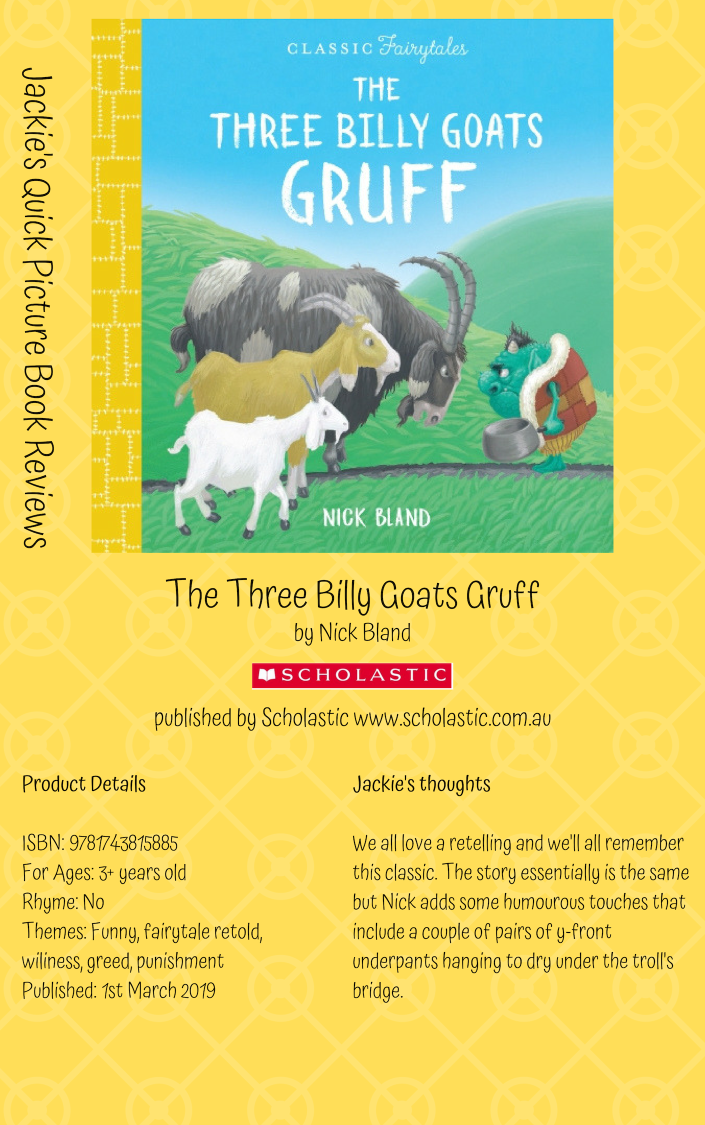 S billy goats gruff
