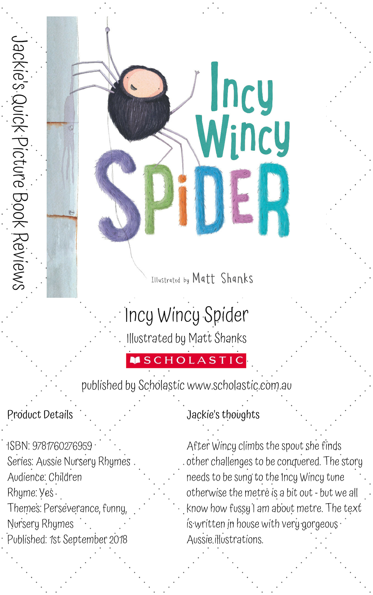 S Incy Wincy Spider
