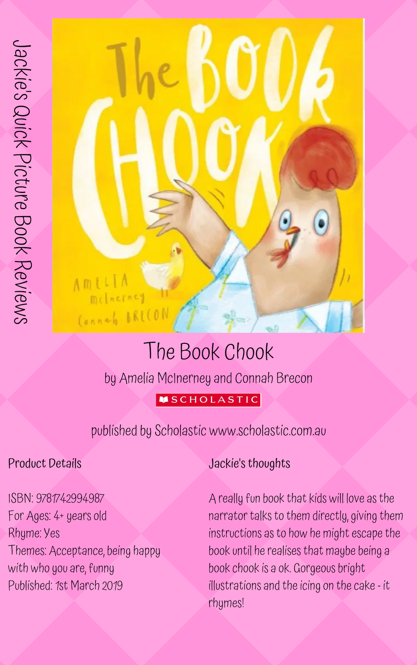 S The Book Chook