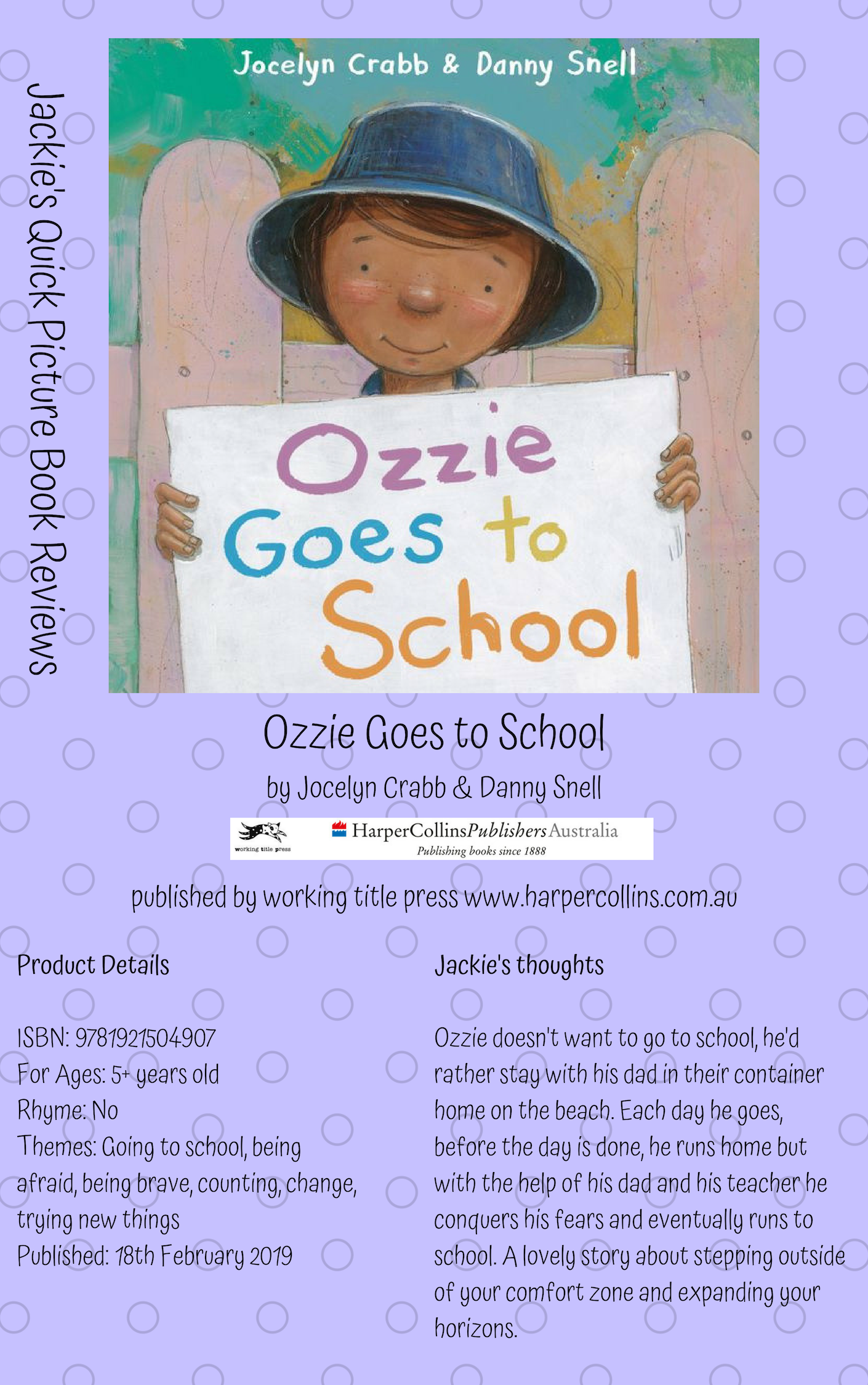 WT Ozzie Goes to School